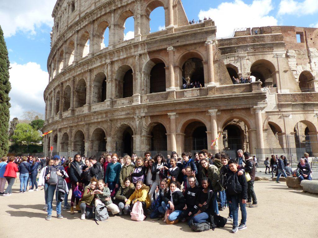 COLLEGE VOYAGE A ROME