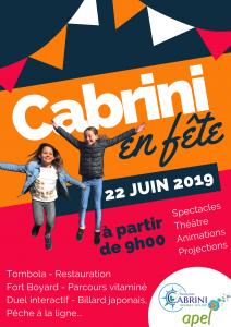 kermesse fête de l'école cabrini 2019